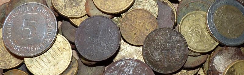Finderlohn für Auftragssuche mit Metalldetektor